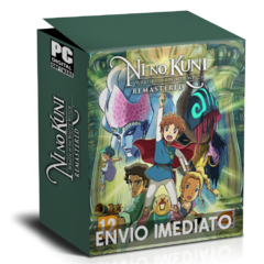 NI NO KUNI WRATH OF THE WHITE WITCH (REMASTERED) PC - ENVIO DIGITAL