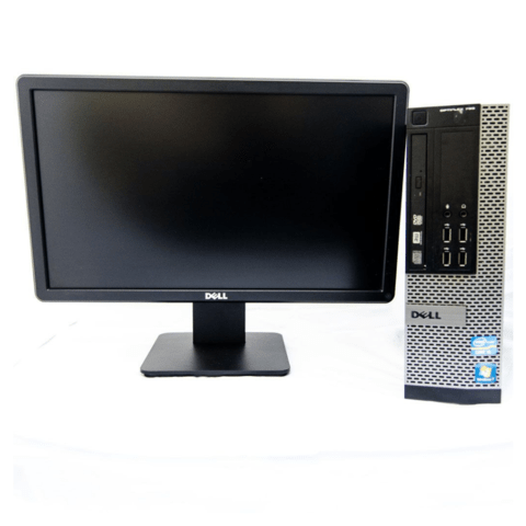 COMBO PC Dell 9010 i5 4 gb RAM  250 GB HDD Windows 7 Pro + Monitor 19