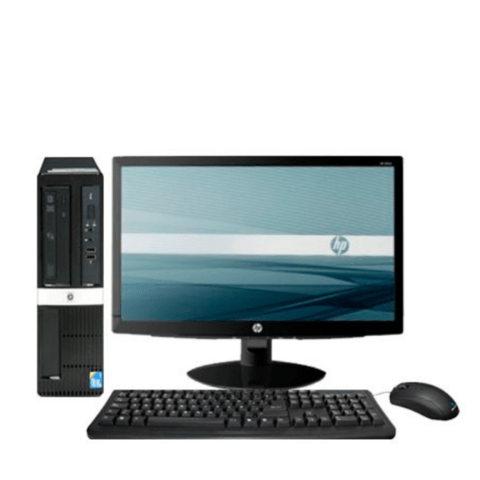 PC completa HP Pro 3000 Intel Pentium Dual Core 4gb RAM 320 gb HDD Windows 7 Pro + Monitor - comprar online