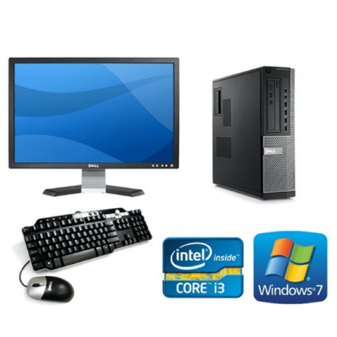 Pc  Completa Dell 790 i3  4 gb 250 gb Win 7 +Monitor LCD 19