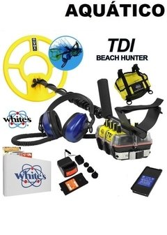 DETECTOR DE METAL WHITES TDI BEACH HUNTER