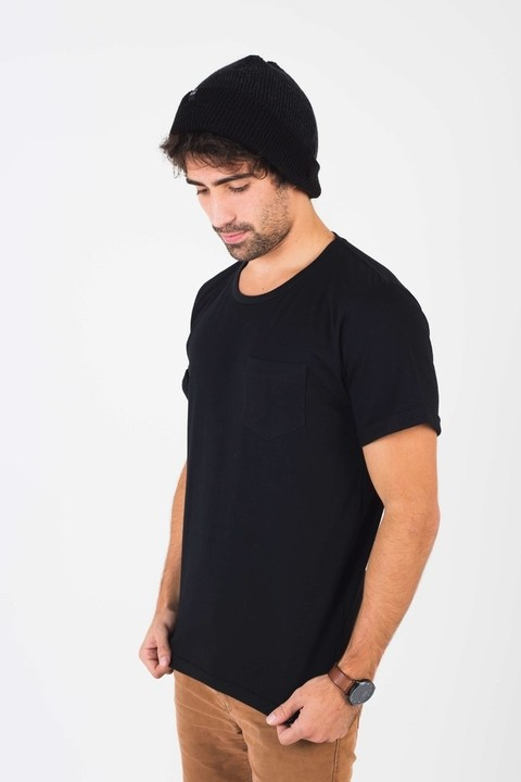 Remera Manly Negra