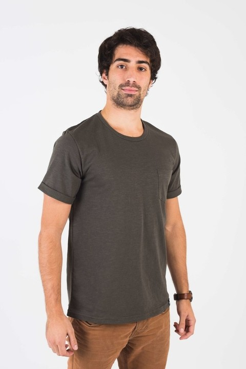 Remera Manly Verde Militar