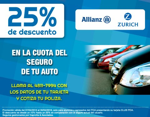 SEGURO PARA AUTOS EN ALLIANZ