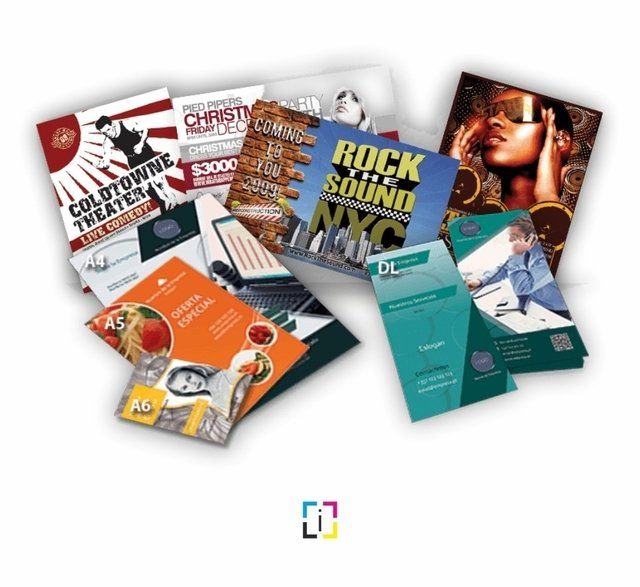 Flyers - Volantes Full Color - comprar online