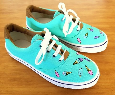 Zapatillas Mint Ice Cream - Helter Skelter
