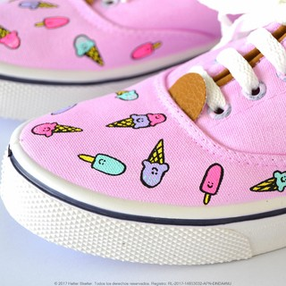 Zapatillas Pink Ice Cream