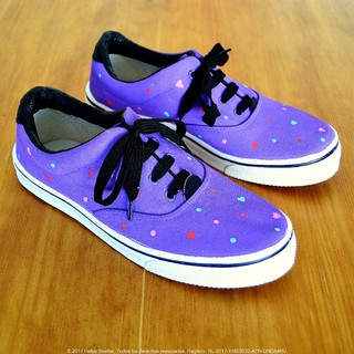 Zapatillas Purple Hearts - comprar online