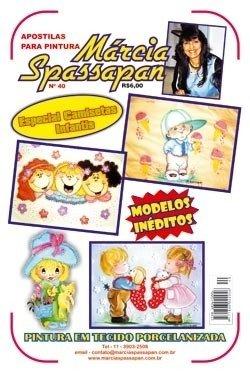 Apostila Para Pintura Infantil Edição 40