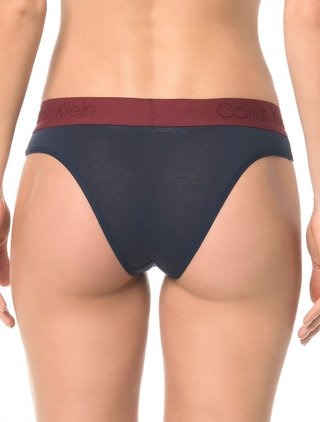Calcinha Tanga Calvin Klein Underwear Cotton Black na internet