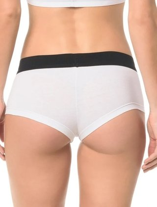 Calcinha Boyshort Calvin Klein Underwear Monogram Cotton na internet