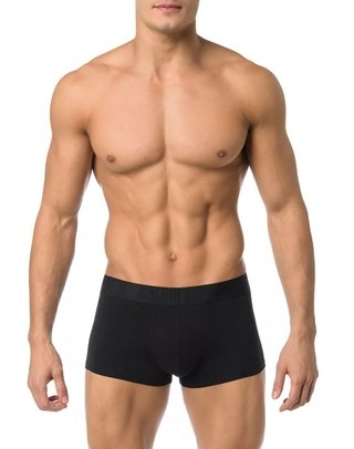 Cueca Low Rise Trunk Calvin Klein Underwear Black