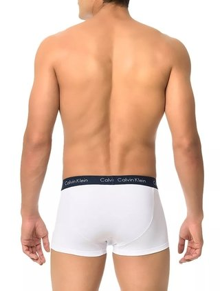 Kit 3 Cuecas Calvin Klein Underwear Low Rise Trunk na internet