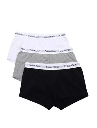 KIT 3 CUECAS CALVIN KLEIN UNDERWEAR LOW RISE TRUNK MESCLADO