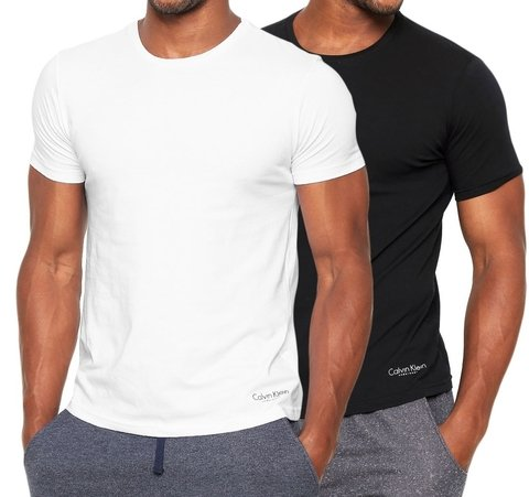 Kit 2 Camisetas Calvin Klein Underwear de Cotton
