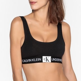 Sutia Top Calvin Klein Underwear Monogram de Cotton