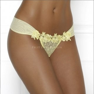 Tanga Drapeada Fruit de La Passion Glamour Rose