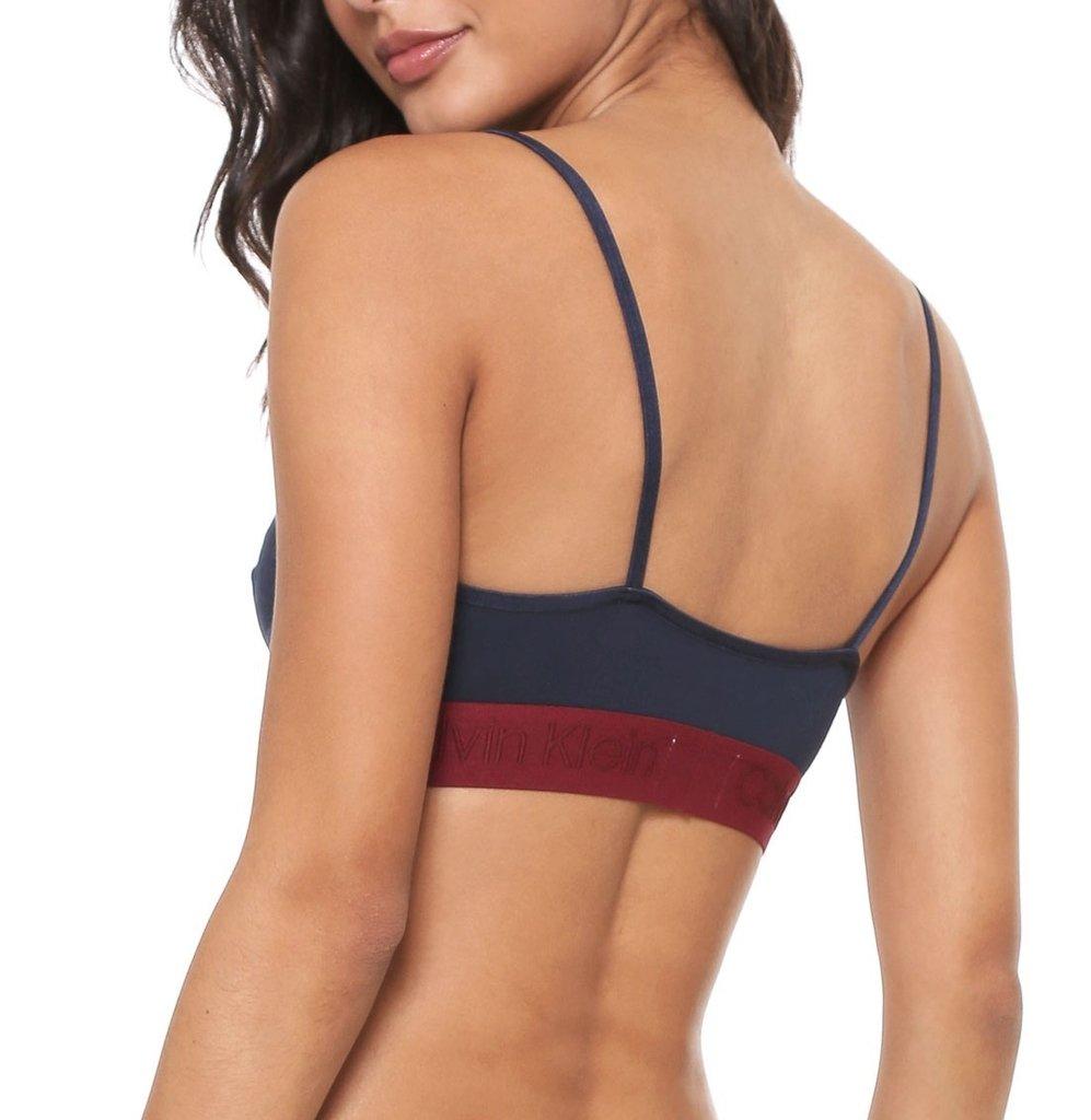 fc4d3c02f7bde2 Sutiã Triangulo Calvin Klein Underwear Cotton