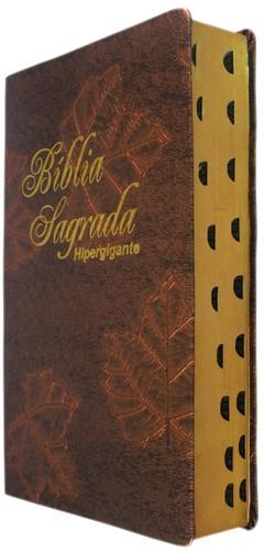 Bíblia letra hipergigante - capa luxo br...