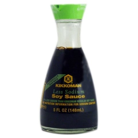 Salsa de soja Kikkoman 148 ml Less Sodium
