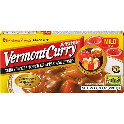 Curry Vermont Sabor Medio230 gr
