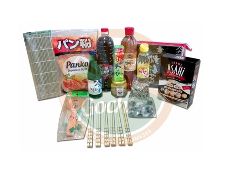 Kit Sushi Sushiman 14 Productos