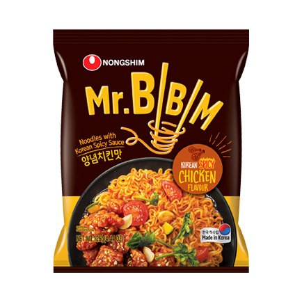 Ramen Mr Bibim Chicken Pollo 126 gr