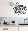 Vinilo Decorativo Frase HOME SWEET HOME