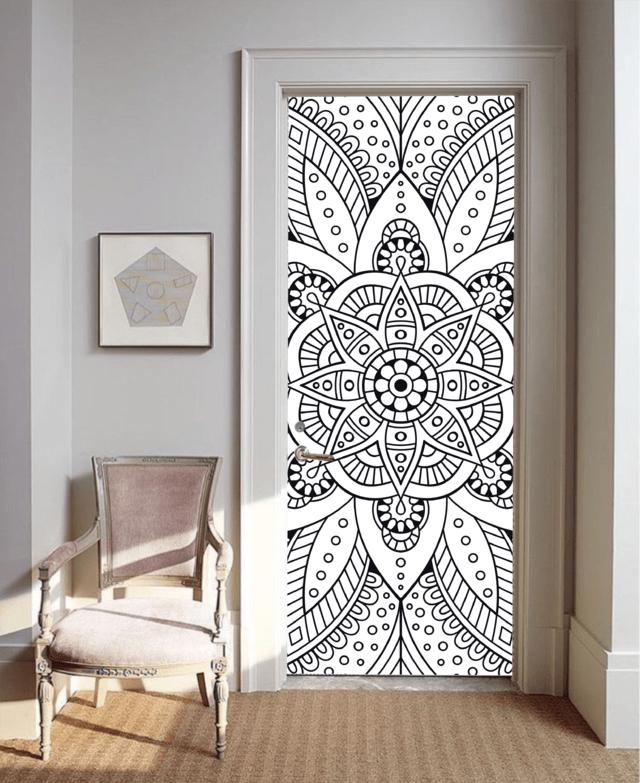 Vinilo decorativo para puerta - Vinilos para puerta ...