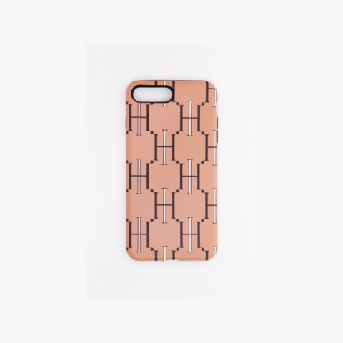 H CASE MONOGRAM IPHONE X