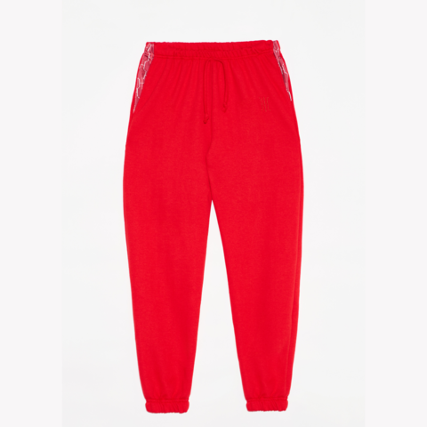JOGGER ROUGE H