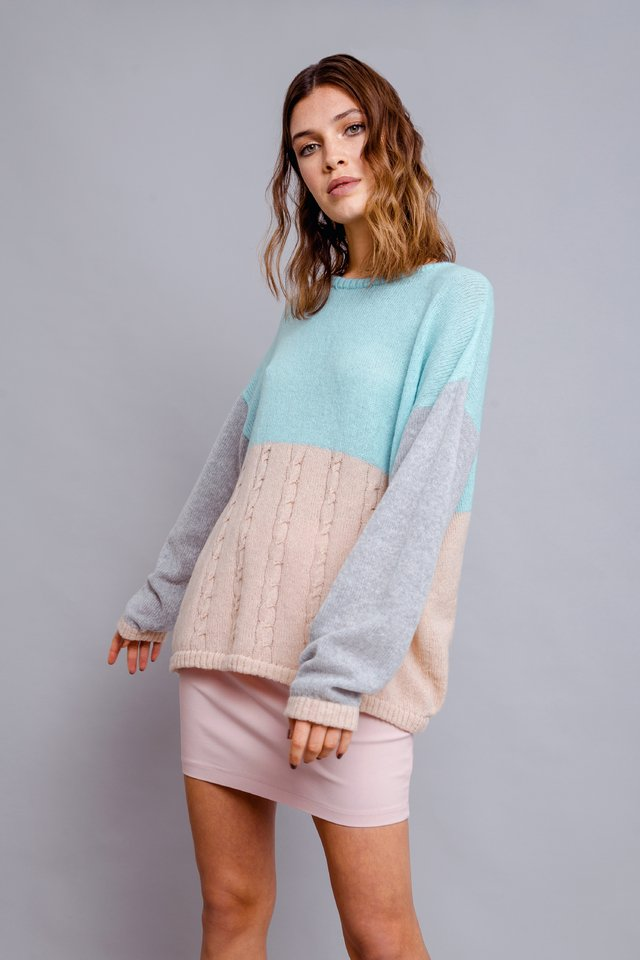 Sweater Tricolor - comprar online