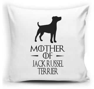 Almofada Mother of Jack Russel Terrier Mãe Guerra dos Tronos