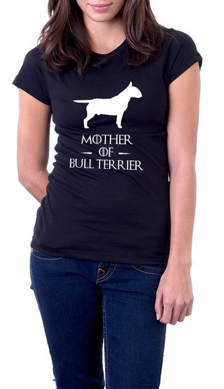 Baby Look Algodão Mother of Bull Terrier