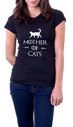 Baby Look Algodão Mother of Cats