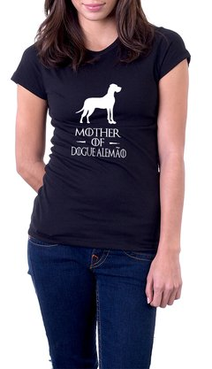 Baby Look Algodão Mother of Dogue Alemão