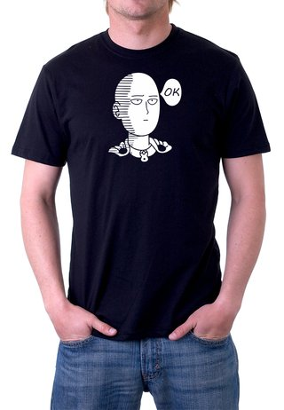 Camiseta One Punch Man Anime  - 100% Algodão
