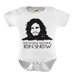Body Baby You Know Nothing Jon Snow Game Of Thrones