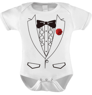 Body Baby Traje Smoking - Festa Baby