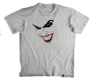 Camiseta Coringa Why so Serious- 100% Poliéster (Modelo 2)