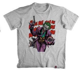 Camiseta Coringa Why so Serious- 100% Poliéster - comprar online