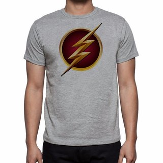 Camiseta Flash Logo - 100% Poliéster