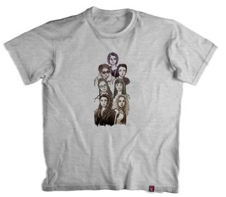 Camiseta Orphan Black Faces - 100% Poliéster