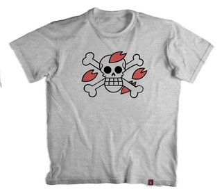 Camiseta On. Piece Chopper Flag  - 100% Poliester
