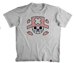 Camiseta On. Piece  Chopper Jolly Roger - 100% Poliester