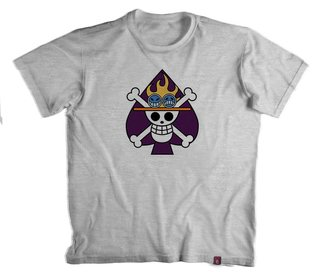 Camiseta Jolly Roge Skull On. Piece  - 100% Poliester