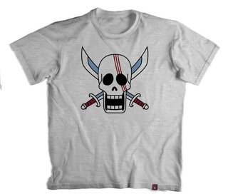 Camiseta On. Piece  One Piece Shanks O Ruivo - 100% Poliester