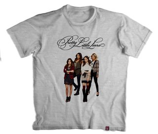Camiseta Pretty Little Liars - 100% Poliéster
