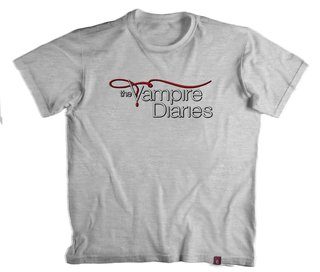 Camiseta The Vampire Diaries - 100% Poliéster