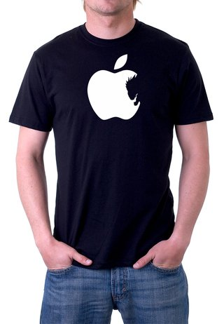 Camiseta Death Note Apple